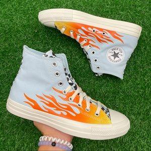 Converse All Star Chuck Taylor Ctas Hi Flames